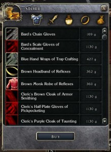 Enchanted Store Inventory